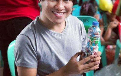 Jumar just ecobricked 262 g of plastic out of the Marikina city, Philippines biosphere…