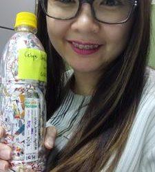 Von  ecobricked 350 g of plastic in Manila, Philippines…