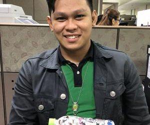 Egan ecobricked 275 g of plastic in Manila, Philippines…