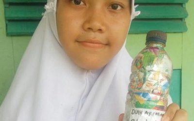 """my first ecobrick"" by Diyah Ayu Wilasmi, Indonesia"